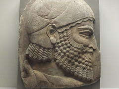 Head of a Bearded Man (failing_angel) Tags: london museum turkey bloomsbury syria britishmuseum sargonii cityofwestminster khorsabad 311213 headofabeardedman