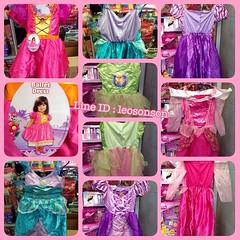 DISNEY PRINCESS งานแท้ มีป้าย  - ดอร่า - เบล - ออโรร่า  - แอเรียล - ราพันเซล - ทิงกะเบล  พร้อมส่ง ชุดละ 550฿ +50฿ EMS  #sweetlovermakeup #princess #siambrandname #disney #sbn #sbntown #pantip #pantown