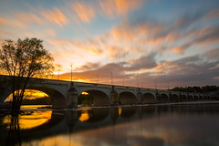 Pont Wilson Tours (jujernault Thanks for >1,5 Million Views) Tags: bridge sunset de soleil eau lee nd pont wilson tours loire couch nd1000 jujernault bestcapturesaoi elitegalleryaoi jeromemomper