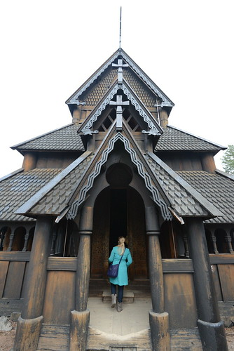 Stave church, Norwegian Museum of Cultural History, Oslo