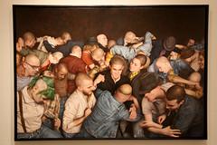 IMG_2014 (Jeffrey Terranova) Tags: nyc newyorkcity dan pits canon rebel gallery jonathan paintings xsi witz the levine newyorkharcore