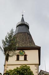 PI3A9900 May Pole (EJK41) Tags: churchtower maypole blaufelden