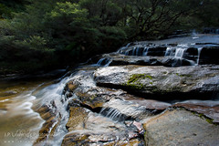 Cascade in the Blue Mountains (J.P. Lawrence Photography) Tags: australia 2016 blue mountains travel new south wales spring australia2016 bluemountains bluemountainsnationalpark nsw newsouthwales spring2016