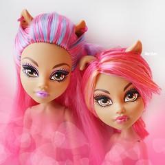 Howleen Wolf (Xeniya_) Tags: pink monster sisters wolf mattel howleen monsterhigh howleenwolf monsterhighhowleenwolf