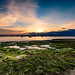 Sunset on the Deben at Bawdsey