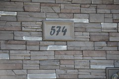 Frontier Ledge (Color: Colorado Rundle) & Custom House Number Plaque (Kodiak Mountain Stone) Tags: house mountain calgary home rock stone design utah fireplace edmonton mason masonry drumheller kodiak lethbridge manufactured rundle veneer homedesign houseplans customhome culturedstone homebuilder stackstone manufacturedstone kodiakmountainstone readystack frontierledge manufacturedstoneveneer coloradorundle