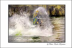 WAKE BOARD FLIP. (Derek Hyamson) Tags: liverpool candid flip wakeboard hdr salthousedock