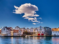 Haugesund, Norway (Vest der ute) Tags: city houses seascape norway clouds rogaland haugesund fav25 fav200 g7x