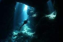 IMG_1207 (Andrey Narchuk) Tags: blue light sea underwater redsea sudan deep diving diver watrer