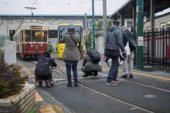 garage of streetcar (kasa51) Tags: people japan tokyo photographer garage tram streetcar