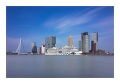AIDA - Rotterdam (P1nc) Tags: longexposure boat rotterdam ship erasmus cruiseship maas aida cruiseschip firecrest dsc0309 irnd 16stopper