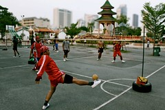 1 (ssedov) Tags: cemetery sport thailand sathorn krungthep sepaktakraw playgames bngkok