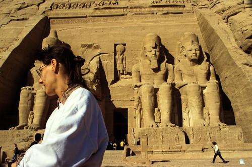 "Ägypten 1999 (131) Assuan: Großer Tempel von Abu Simbel • <a style=""font-size:0.8em;"" href=""http://www.flickr.com/photos/69570948@N04/27491150496/"" target=""_blank"">View on Flickr</a>"