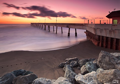 Pacifica pier dreams (Dmitri007) Tags: ocean california water outdoors pier highway1 pacificocean bayarea sanfranciscobay pacifica pacificcoast californiacoast oceansunset pacificapier californiasunset alonghighway1 westcoastsunset canon5dmark2 5dmark2