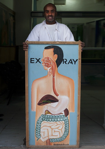 X Ray cabinet in Hargeisa - Somaliland