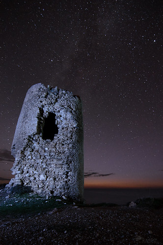 The Milky Way & The Old Tower