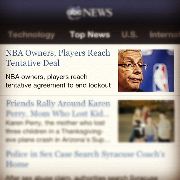 ❤ #yes #finally #nba #lockout #basketball #lettheboysplay #okcthunder #thunder #toolong #sports #news
