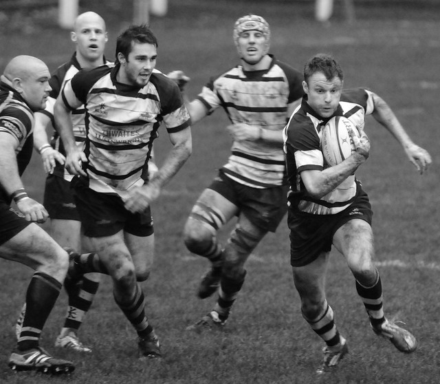 Otley 17 : 20 Preston Grasshoppers RFC 26 November 2011 103a