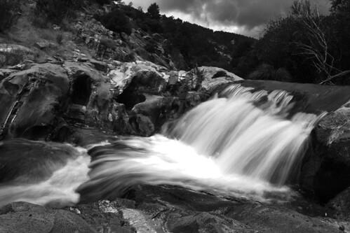 Waterfall at la Pedriza