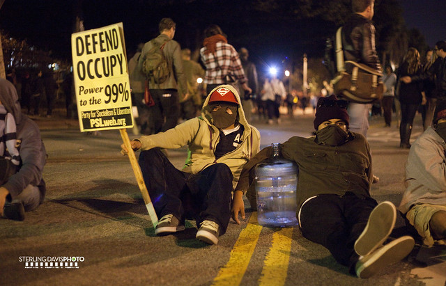 OCCUPY LA, Eviction Hour