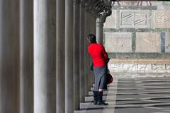 piazza san marco (Zaporogo) Tags: donna san marco piazza rosso venezia