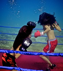 UW-ChineseBoxing 10 (steadichris) Tags: underwater models chinese scuba lingerie cebu boxing breathhold
