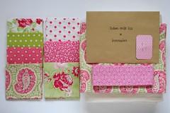quilt kit (Sados da Concha) Tags: squares sewing fabric quilting precut quiltkit saidosdaconcha prewashed constancacabral