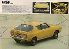 1976 Datsun Cherry F-II (Hugo90-) Tags: auto classic car ads advertising cherry nissan antique vehicle brochure 1976 datsun fii