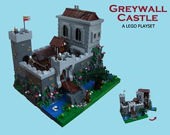 Greywall Castle (2 Much Caffeine) Tags: castle lego ccc moc