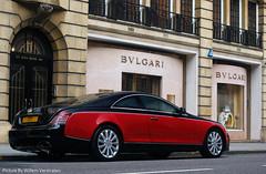 Xenatec (Willem Verstraten) Tags: red summer black car 50mm sony alpha 18 coupe willem maybach twotone 2011 sloanestreet 57s a390 xenatec verstarten cruisero