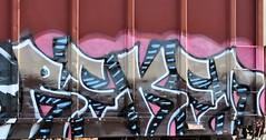 Reken (nunya...nunyabusiness) Tags: art train graffiti paint graf tracks spraypaint reken