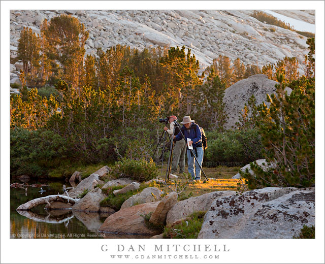 Sierra Nevada Photographers, Golden Hour Light