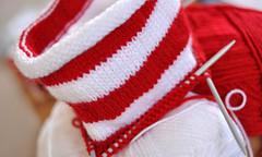 Christmas knitting (hddod) Tags: christmas knitting stocking 2011 2011yip