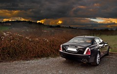 Maserati quattroporte (Max.photographies) Tags: light sky sun sunlight cars car photography photo nikon shoot lyon beaujolais shooting 18 55 maserati quattro quattroporte d5000 worldcars quattroportes
