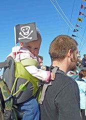 "Baby flies the Jolly Roger • <a style=""font-size:0.8em;"" href=""http://www.flickr.com/photos/36398778@N08/6490982079/"" target=""_blank"">View on Flickr</a>"