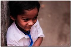 joy of school getting over taken @ ks garden, bangalore's oldest slum (samar clicked) Tags: street india canon children kid candid bangalore
