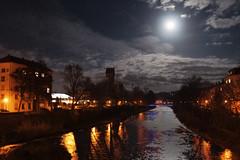 Pforzheim @ Night (ab.strakt) Tags: light licht pforzheim vollmond enz monn