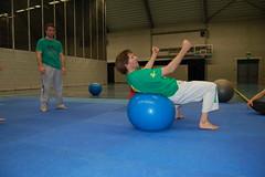 DSC_0065 (BBJJA) Tags: te met voor machelen leerkrachten wortstelen fitballen bijscholingsdag