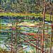 Timagami, oi on canvas. Artist: Nancy Brossard