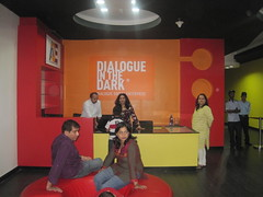 Welcome counter (Dialogue-in-the-Dark) Tags: india exhibition international staff did visitors venue dialogue dialogueinthedark didinternational
