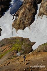 Kerlingarfjoll shs_n3_081905 (Stefnisson) Tags: summer snow hot landscape iceland spring tourist tourists springs area hiker hikers rhyolite geothermal sland snowbank snjr hver kerlingarfjll hverir feramaur gngumaur tristar kerlingafjoll kerlingafjll hveradalir kerlingarfjoll tristi hverasvi feramenn snjskafl lpart liparit gnguflk stefnisson ljsgrti rhlt