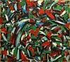 liquid brain in solid forest (divedintopaint) Tags: ferrara astratto quadri espressionismo dived informale neoprimitivismo