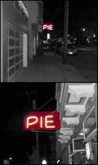 PIE (goofcitygoof) Tags: sanfrancisco red pie signage foundinsf picnik mayorjones alexandrajones goofcitygoof httpsfbulldogcomalexandra goofcitygraphix httpgoofcitycom httpmayorjonestumblrcom