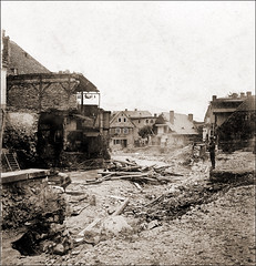 The Big Flood of 1897 Pt.I (ookami_dou) Tags: vintage flooding flood poland disaster stereoview devastation calamity karpacz krkonoe riesengebirge kowary lomnitz anschtz krummhbel schmiedeberg eglitz