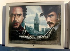 'A Game of Shadows' Sherlock Holmes Paignton South Devon (Bridgemarker Tim) Tags: pictures films cinemas sherlockholmes judelaw stephenfry gameofshadows robertdowneyjunior