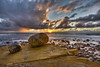 Point Loma Sunset (x-ray tech) Tags: ocean california light sea sky cliff sun seascape west detail reflection beach water field rock clouds composition photoshop landscape star coast pier interestingness high nice interesting twilight sand exposure flickr surf waves dynamic angle pacific sandiego superb wind dusk air tide horizon low tripod fine wide perspective shoreline scenic clarity atmosphere scene sharp explore filter adobe shore level definition capture range depth hdr infinite timeless density endless pointloma neutral photomatix bracketed ef1635mmf28l americasfinestcity cs5 canoneos5dmarkii