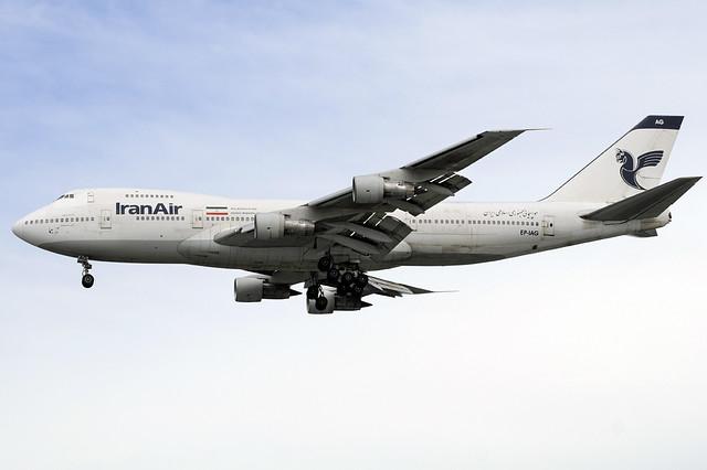 Iran Air Boeing 747-200 (EP-IAG) DSC0008