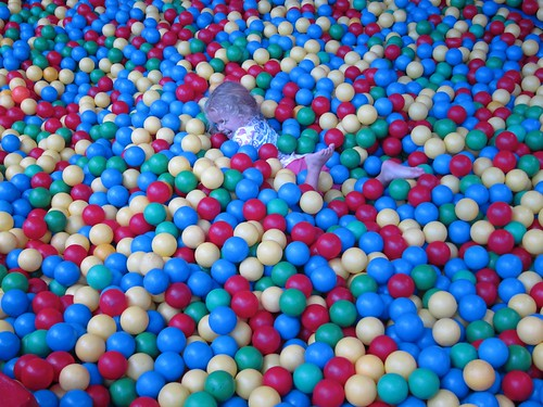 Violet In The Ball Pit