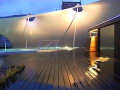 Außenbereich Palais Thermal