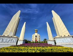 Democracy Monument (Plate 1) | Bangkok